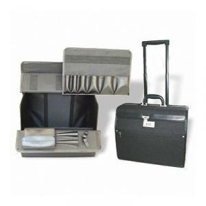 PVC Leather Trolley Case